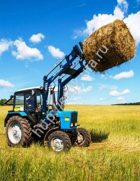 Буровые установки на базе трактора МТЗ 80 и 82: БМ-205.